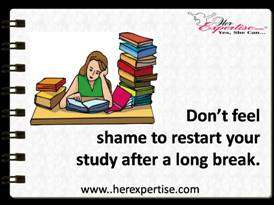 Don't Feel Bad To Restart Your Study Again