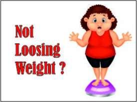 NOT LOOSING WEIGHT?
