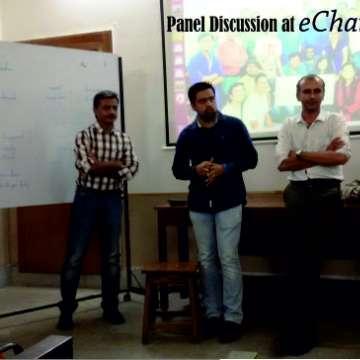 Panel Discusses at eChai