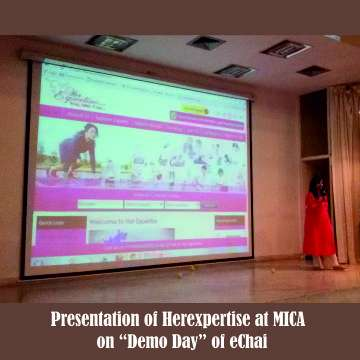 Presentation of Herexpertise at MICA