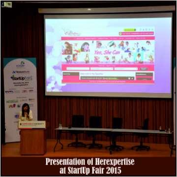 Presentation of Herexpertise at StartUp Fair 2015
